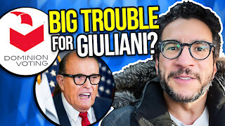 Dominion is Suing Giuliani for $1.3 BILLION! Lawyer Explains - Viva Frei Vlawg