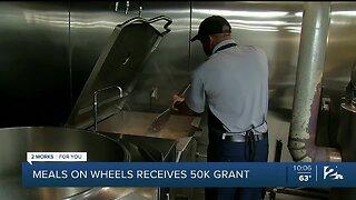 Meals on Wheels of Metro Tulsa Receives 50K Grant