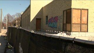 Vandals sought after tagging satanic graffiti on Milwaukee church on Palm Sunday
