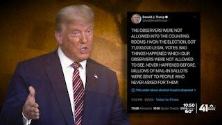 KC metro expert explains Trump's legal fight over votes