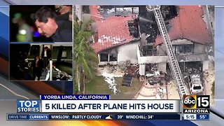 5 people killed in California plane crash