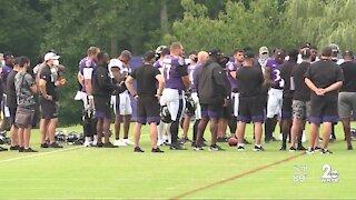 Ravens practice, cancel football meetings in wake of Jacob Blake shooting