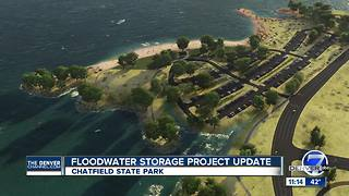 Changes at Chatfield State Park during work on Reallocation Project