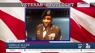 Veteran Spotlight: Giselle Allen of Anne Arundel County