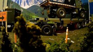 Grand hauler testing new road