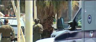 LVMPD: Man dead after shooting at officers