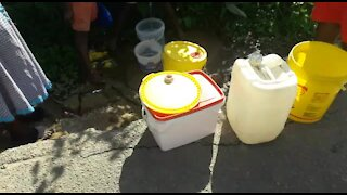SOUTH AFRICA - Durban - Cliffdale residents without water (Videos) (yPV)