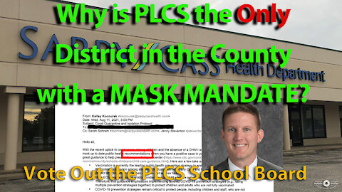 Why Is Papillion The Only Schools with MASKS?