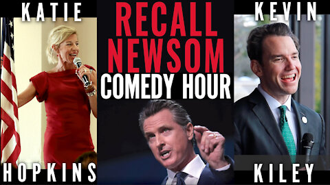 Katie Hopkins - Recall Newsom Comedy Hour feat. Kevin Kiley