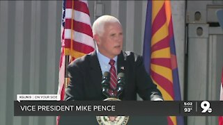 Vice President Pence hosts rally in Peoria