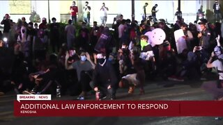 Recovery after three shot during Kenosha protests Tues. night