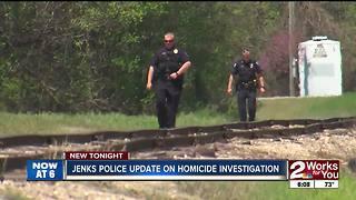 Jenks Police update on homicide investigation