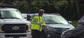 Drivers witness gas line explosion on Florida's Turnpike near Lake Worth Beach