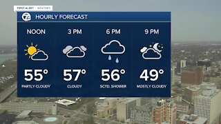 7 First Alert Forecast 12 p.m. Update, Monday, April 5