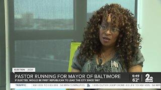 Shannon Wright: Pastor running for mayor of Baltimore