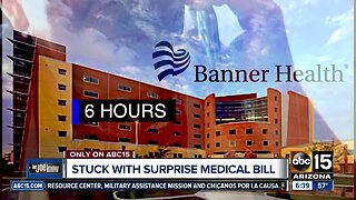 Couple stuck with surprise medical bill