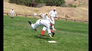 Olde Tyme Baseball Game Victor, Colorado 2018