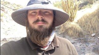 Dry Washing An Arizona Creek Bed