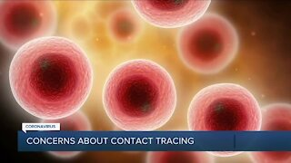 Concerns about contact tracing