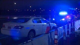 Bedford investigating crash on I-480