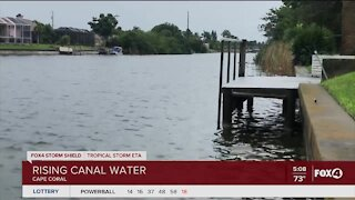 Rising water expected in canals in Southwest Florida