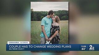 Couples dream wedding day crashed by coronavirus