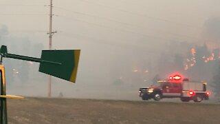 Bobcat Fire, Roundup Montana