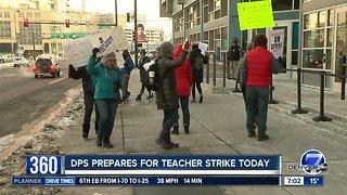 Denver Public Schools says 2,100 teachers called out Monday