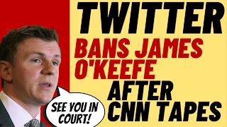 INSANE Political Censorship As Twitter Permanently Bans James O'Keefe