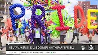 NE lawmakers discuss conversion therapy ban bill