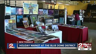 Shop local at Blue Dome Holiday Market