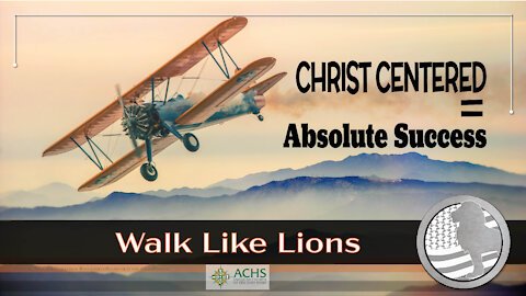 """""""Christ Centered, Absolute"""" Walk Like Lions Christian Daily Devotion with Chappy Apr 27, 2021"""