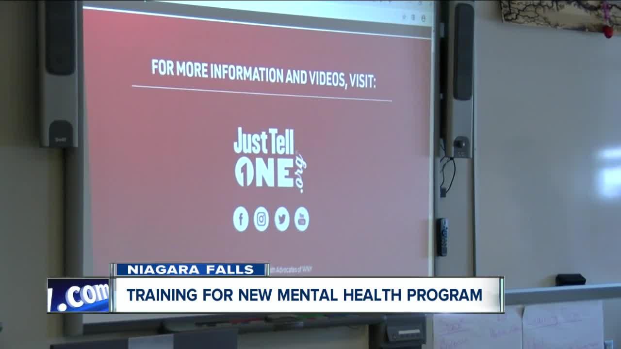 Niagara Falls teachers receive training for new mental health program