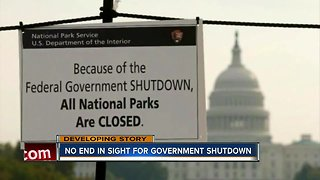 Partial government shutdown latest
