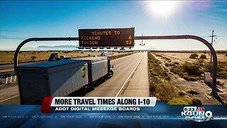 ADOT posting more travel times along I-10 during holidays