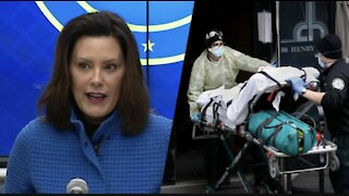 Gov Gretchen Whitmer Facing JAIL As CRIMINAL Charges Over Michigan's Nursing Home Deaths