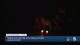Family, friends remember teen killed in ATV crash in Indian River County