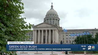 State lawmakers seek changes to control medical marijuana businesses