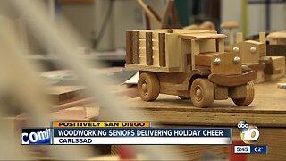 Seniors make toys for North County kids