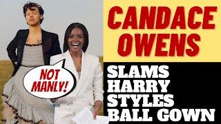 CANDACE OWENS SLAMS HARRY STYLES IN A DRESS