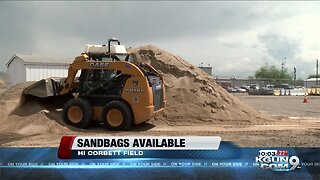 Sandbags available for monsoon storms
