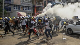 Police Kill At Least 6 Anti-Coup Protesters In Myanmar
