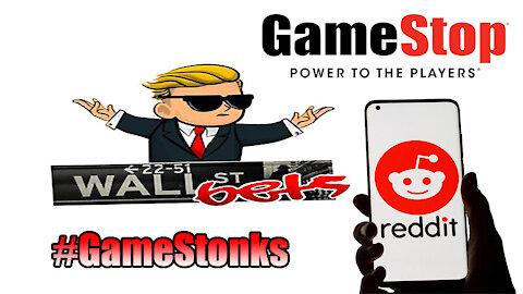 The Friday Vlog | Wall Street Establishment Gets Stonks | GameStop AMC