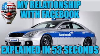 My Relationship With Facebook Explained In 53 Seconds