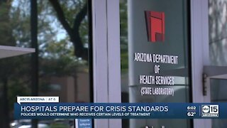 Arizona hospitals preparing for crisis standards: What that could mean