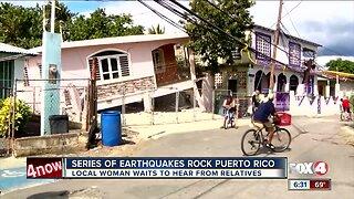 Series of earthquakes rock Puerto Rico