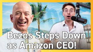 Jeff Bezos is Leaving as Amazon CEO - Live Breaking Update!