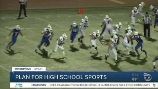 Plan for high school sports