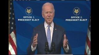 President-elect Joe Biden makes remarks on D.C. situation (FULL PRESSER)