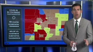 These are the Colorado counties where the CDC says vaccinated people should continue to wear masks indoors